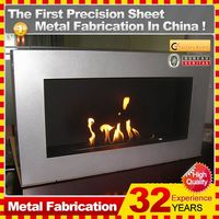 2014 customized ventless used electric fireplace