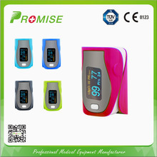 Oximeter for testing blood oxygen value
