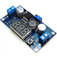 Adjustable 4.0-40V to 1.25-37V 5/12V DC LM2596 Voltage Regulator Experimental Power Buck Converter+LED Voltmeter