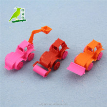 plastic mini toy construction truck, promotional item, very cheap toy for kids
