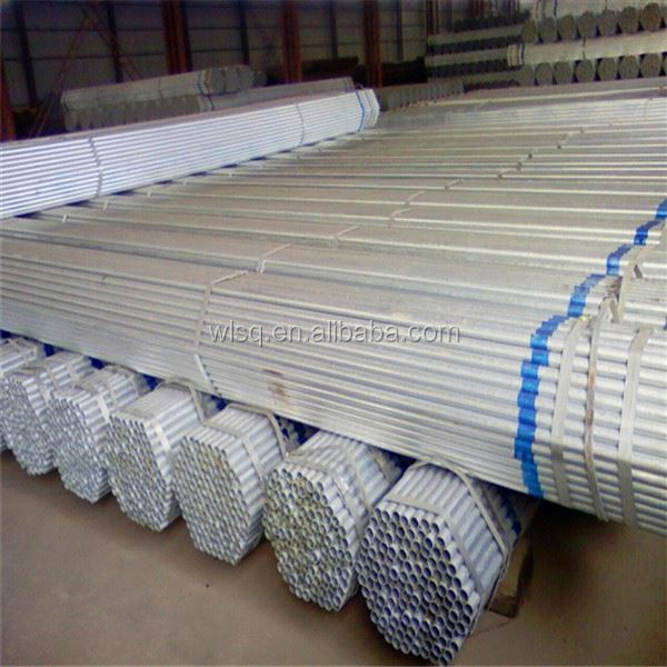 ISO qualified factory galvanized ms square pipe weight chart price per meter