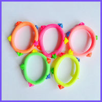 Mixed Colors Baby/Girls/Kids/Children Hair Accessories Headband Scrunchie Elastic Hair Ties Bands Ponytail Holders Wholesale