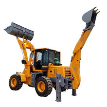 Chinese cheap used backhoe loader road loader digger