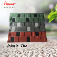 China building material /different color shingle roof tile