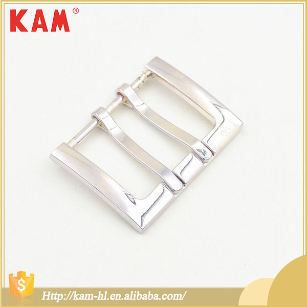 Nickel-free Durable Qualified Metal Girdle Belt Buckle with Rectangle Shape