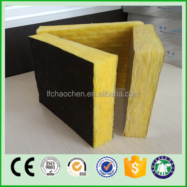 high density fiber glass wool board, glass wool
