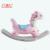Wholesale popular kids ride on toy plastic rocking horse animal rider toy for balance exercise