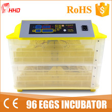 HHD homemade incubator chicken eggs broiler eggs for hatching machine YZ-96
