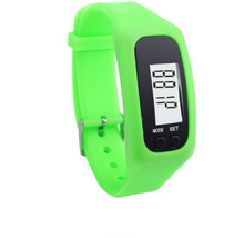 Hot selling Silicone Rubber Band Touch Screen Red Light Sports LED Watch Bracelet