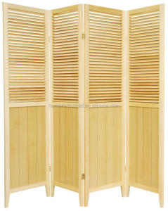 4P Blind screen Room Divider