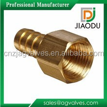 1/2'' customized CW614N brass zinc brass yellow color pvc nipple fittingsfor hose pipes