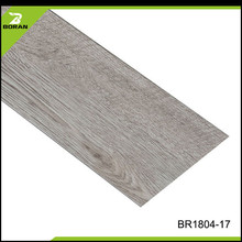 Wood Grain Healthy No Formaldehyde Water Resistance Pvc Vinyl Flooring