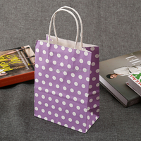 White Kraft Paper Shopping Bag for Gift Packing