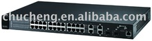 24 port Layer 3 Smart managed 100M Fast Ethernet Switch ES-4124
