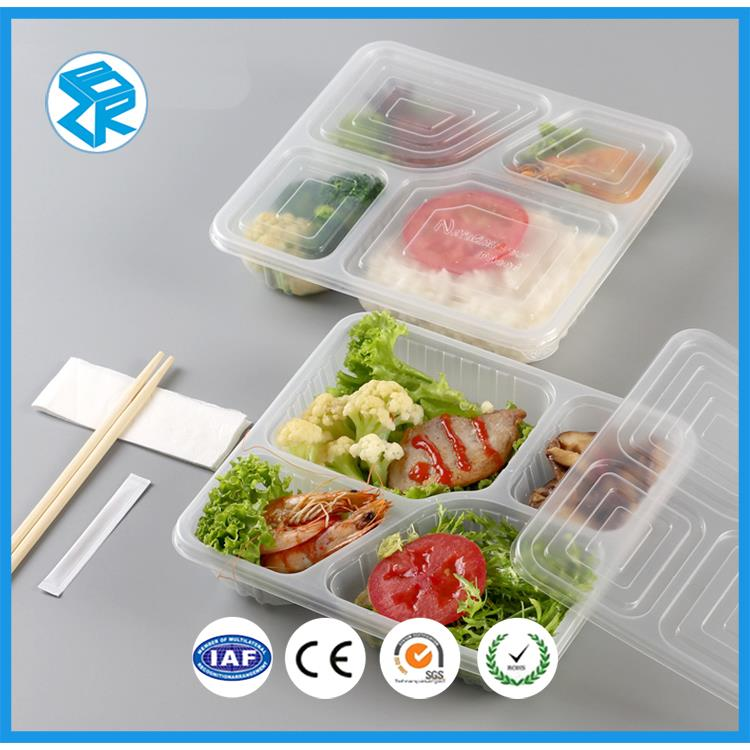 800ml disposable PP plastic takeaway frozen food packaging container