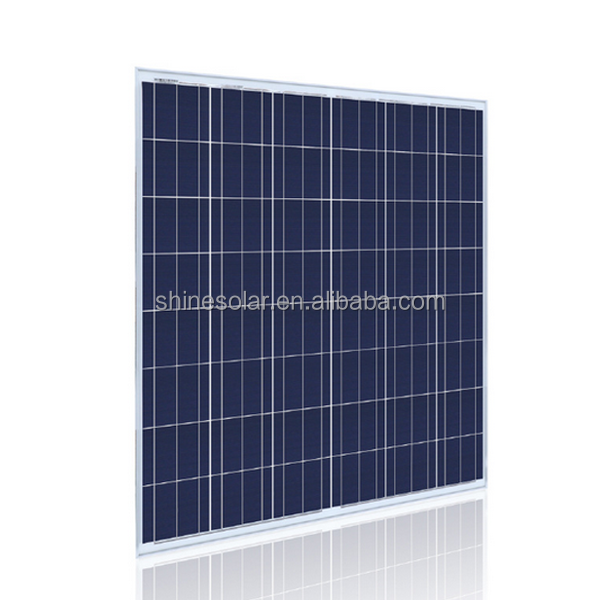 A graade poly solar cell for sale 80w Polycrystalline Silicon Material solar panels