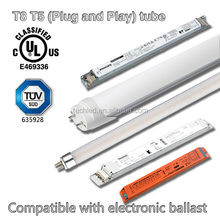 High brightness 4ft cheap t8 110v/220v new led tube light with AC90-265V / T8 LED tubes compatible ballasts