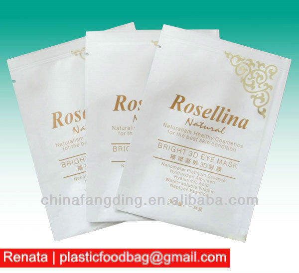 aluminum foil packaging bag facial mask packaging