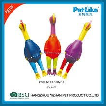 lifelike squeaky dog toys Sex Screaming Chicken pet vinyl toys Hangzhou pet products supplier
