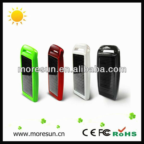 emergency solar powered charger, fast solar charger for ipod/iphone 3g/4g/5