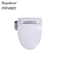 2018 Hot Sale Floor Mounted Installation Type Electronic Bidet Soft Close Toilet Seat