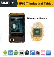 Rugged/Industrial tablet PC 2D barcode Android PC/NFC RFID biometric fingerprint reader