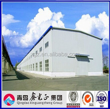 Sandwich Panel Big Steel Structure Workshop Plans