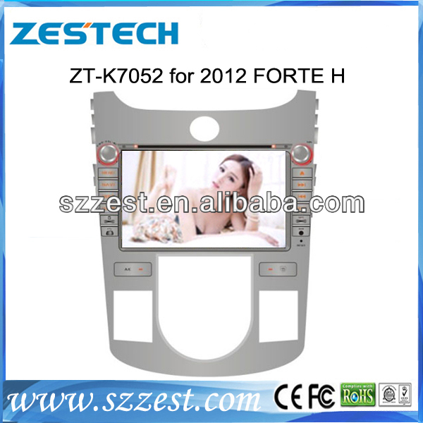 ZESTECH factory price New Product car dvd player with gps navigation for Ford FORTE H 2012