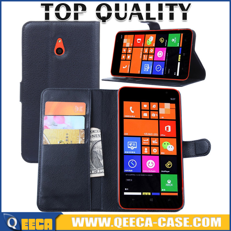 China Suppliers wholesale for Nokia Lumia 1320 leather stand flip cover case with wallet design and card slots photo frame