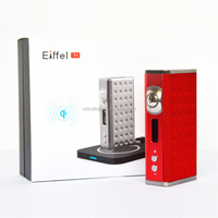 e-cigarette best vapor mod wholesale vaporizer 165w esige eiffel t1 tc/vw wireless charge mod
