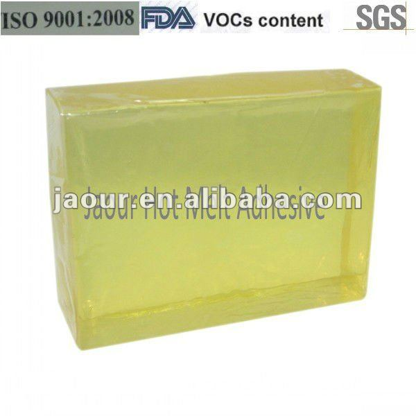 Hotmelt Adhesive ( block shape ) for Bra Pads