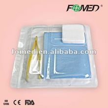 Medical use wound dressing pack