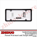 License Plate Frame With Screw