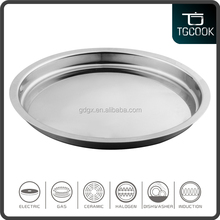 Stainless steel sink shape combined tempered glass pot lid