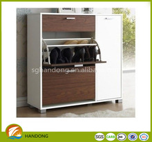 New items hot sale wooden shoe storage cabinet door/ shoe rack