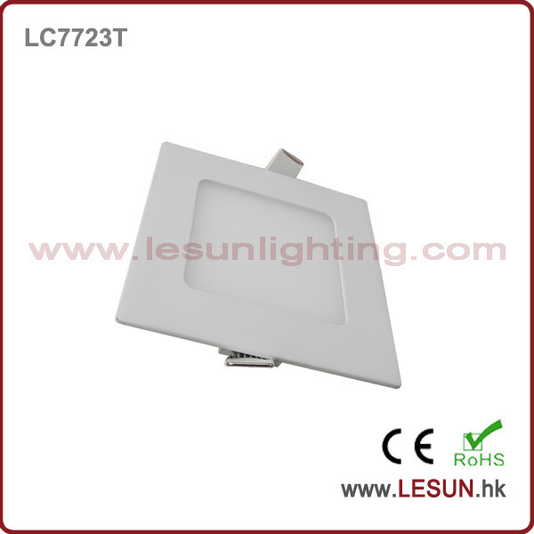 High quality 3W led square panel light/flat lamp LC7722T-S