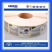 sticker manufacturer label sticker adhesive for health care products