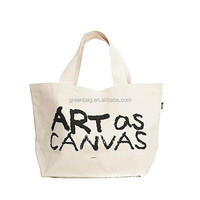 retro stylish 100% organic cotton bag , 10oz cotton canvas tote bag