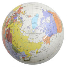 Modern style Different types map of the globe of the world in many style