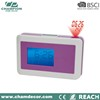 Promotion digital projector alarm clock , project digital clock