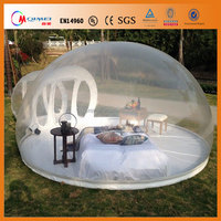 Factory customize! Clear Inflatable Dome Tent Inflatable Bubble Tent Transparent Inflatable Tent