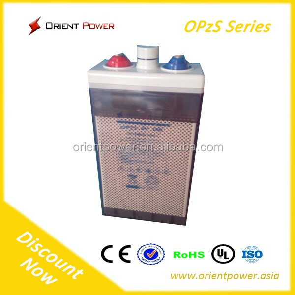 Sealed Sealed Type and UPS, telecom, solar and wind system, emergenc Usage OPzS bettery