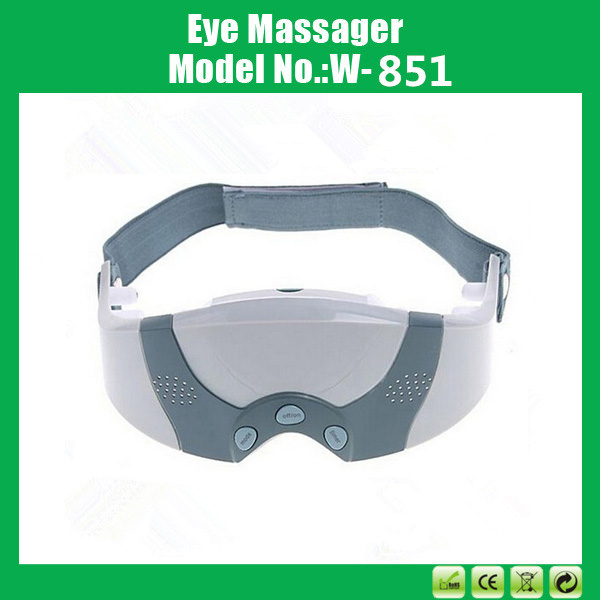 Magnetic Vibration Eye Care Instrument , Forehead Eye Mask Massage , Electric Eye Massager