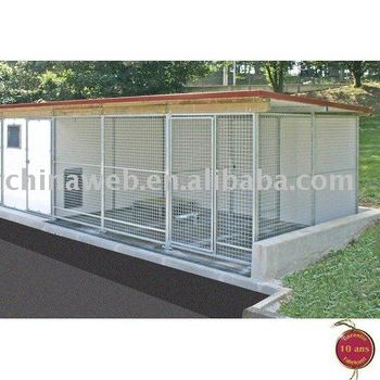 Dog kennel building
