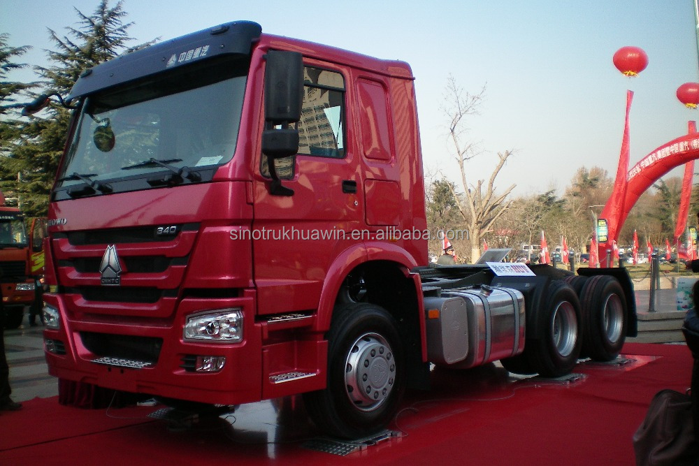 New Conditions HOWO 371hp 6x4 20 ton head tractor truck for sale