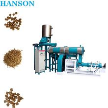 floating sinking fish feed pellet machine/carp/catfish /red fish feed pellet processing line factory China for sale