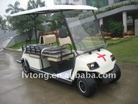 2 seaters electric ambulance golf cart from China