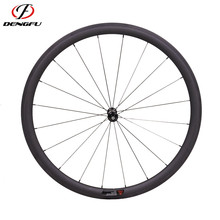 Deng fu lightweight cheap carbon 38 50 60 88 wheels 700C road 27width carbon tubular bicycle wheels for sale