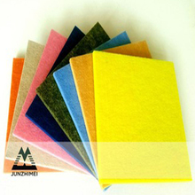 100% recycled pet polyester fiber acoustic panel fiber material