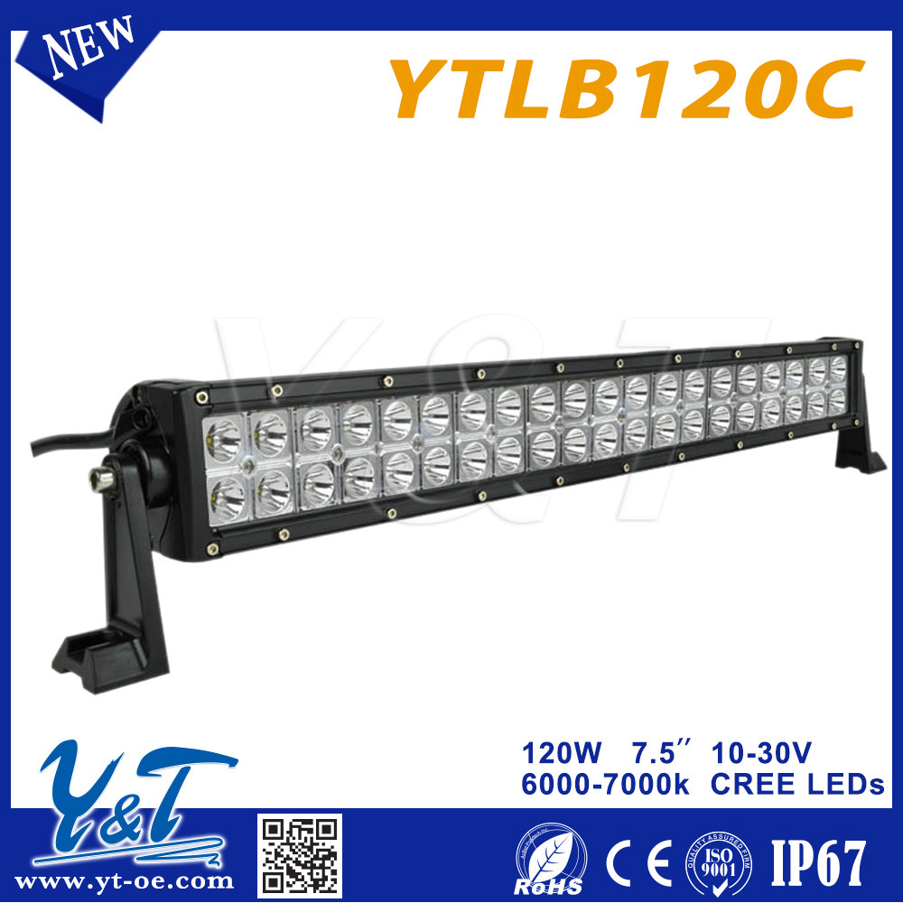 security assurance IP67 led light bar 120w 6000k Led Light Bar Super Thin/slim Running Lights car parts accessories